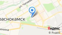 Мировые судьи г. Краснокамска на карте