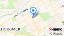Краснокамский муниципальный фонд поддержки малого предпринимательства на карте