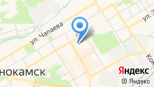 Расчетно-кассовый центр г. Краснокамска на карте