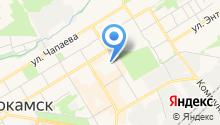 Центр занятости населения г. Краснокамска на карте