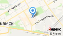 Установочный центр на карте