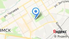 Районный дворец культуры на карте