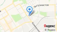 Центр ремонта и обслуживания автомобилей на карте