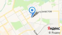 Отделение ГИБДД ОВД г. Краснокамска на карте