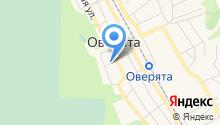 Администрация Оверятского городского поселения на карте