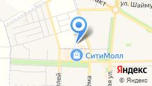 Сеть магазинов разливных напитков на карте