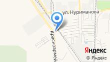 Мелеузовский завод металлоконструкций на карте