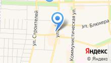 Автостоянка на ул. Артема на карте