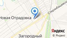 Администрация сельского поселения Отрадовский сельский совет на карте