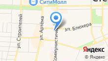 Express-copy на карте