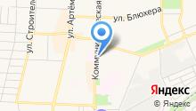 Банкомат, Башкомснаббанк, ПАО на карте