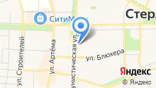 Авдон на карте