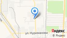 Башкирское специализированное ремонтно-строительное управление противопожарных работ, ЗАО на карте