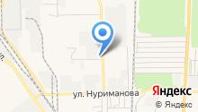 Специальный приемник для содержания лиц, арестованных в административном порядке на карте