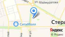 Арзан на карте