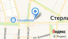 АвиаСтар на карте