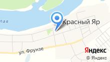 Красноярская сельская модельная библиотека на карте