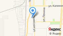 Регистрационно-экзаменационный отдел ГИБДД на карте