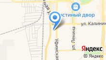 Сеть аккумуляторных центров на карте