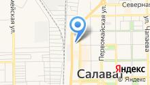 Отдел Военного комиссариата Республики Башкортостан по г. Салавату на карте