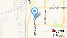 Автостоянка на Уфимской на карте