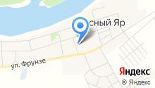 Красноярская врачебная амбулатория на карте