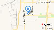 Продовольственный магазин на бульваре Салавата Юлаева на карте