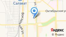 Главное бюро медико-социальной экспертизы по Республике Башкортостан на карте