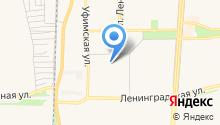 Башкирская гимназия №25 на карте