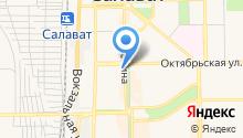 Кухни+ на карте