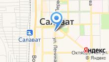Башкомснаббанк, ПАО на карте