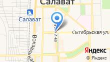 Лима-РБ на карте