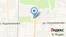 Транспортно-строительная компания на карте