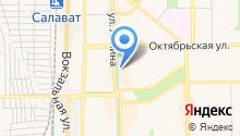 Актау на карте