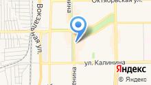 Сеть магазинов овощей и фруктов на карте
