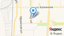 ВИСЛА на карте