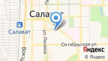 Управление Пенсионного фонда РФ в г. Салавате на карте