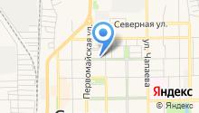 Салаватский городской отдел управления Федеральной службы судебных приставов по Республике Башкортостан на карте