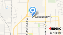Компания по производству кондитерских изделий на карте
