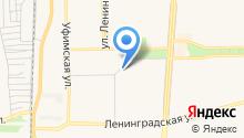 Бакса на карте