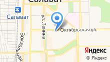 Башфармация, ГУП на карте