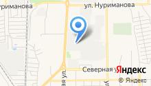 БАЗ-ИС на карте