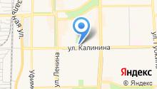 Уралмастер на карте