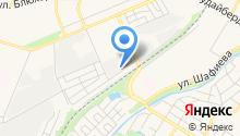 Автомойка на Раевской на карте