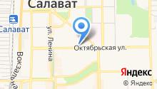 Управления Федерального казначейства по Республике Башкортостан на карте