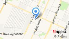 Альтрейд на карте