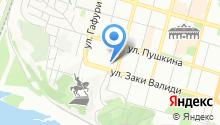 Служба эвакуации транспорта на карте