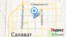 Салаватский Клуб Спелеологов на карте