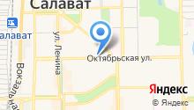 Оливия на карте