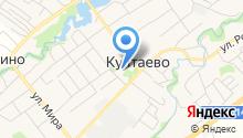 Библиотека Култаевского сельского поселения на карте